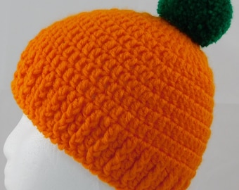 Thanksgiving/Halloween Pumpkin Hat (Toddler-child size)