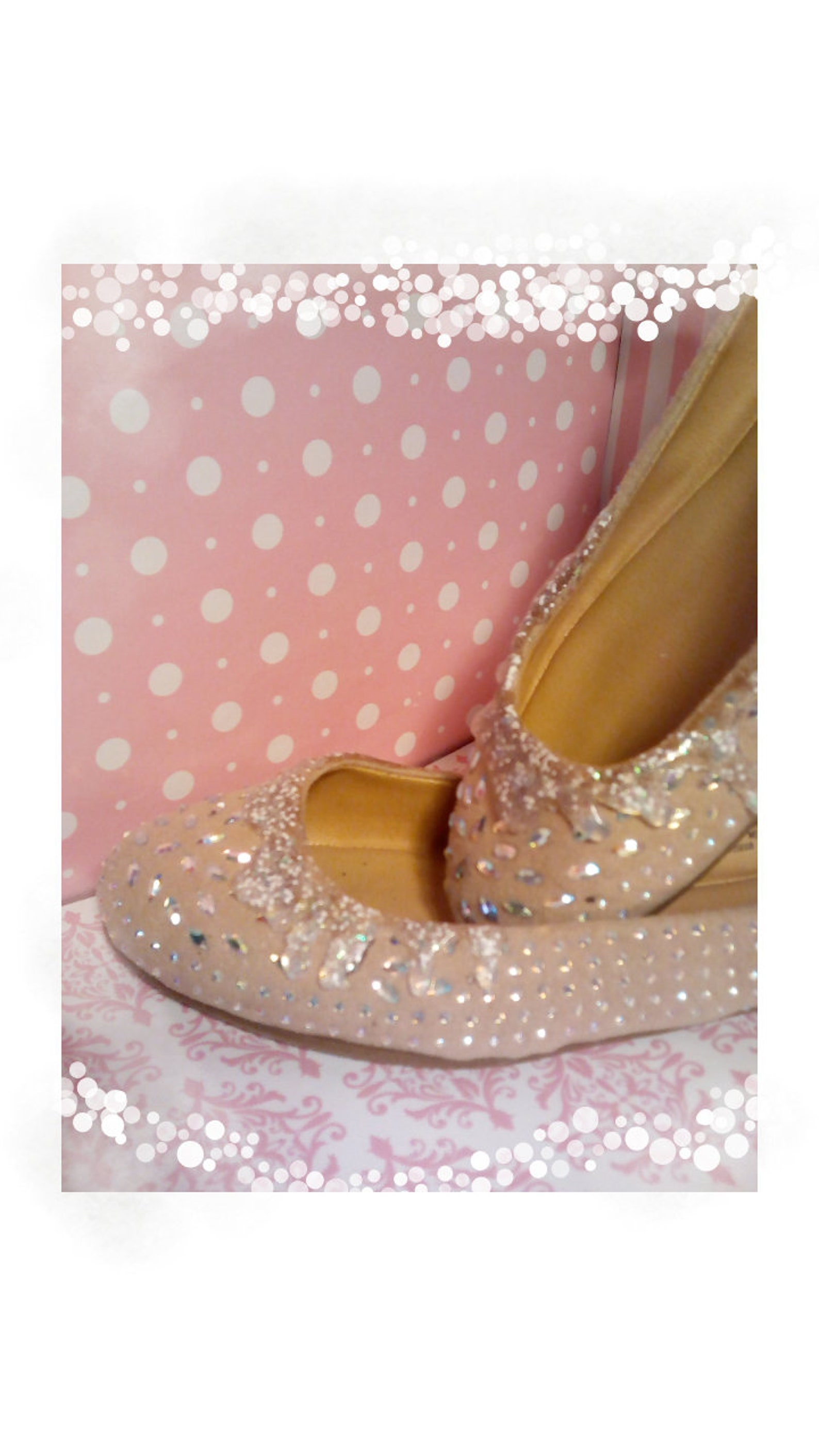 ice cream shoes beige flower ballet flats,valentine's day,champagne cake shoes,cake shoes,canvas shoes,glitter shoes,crystal
