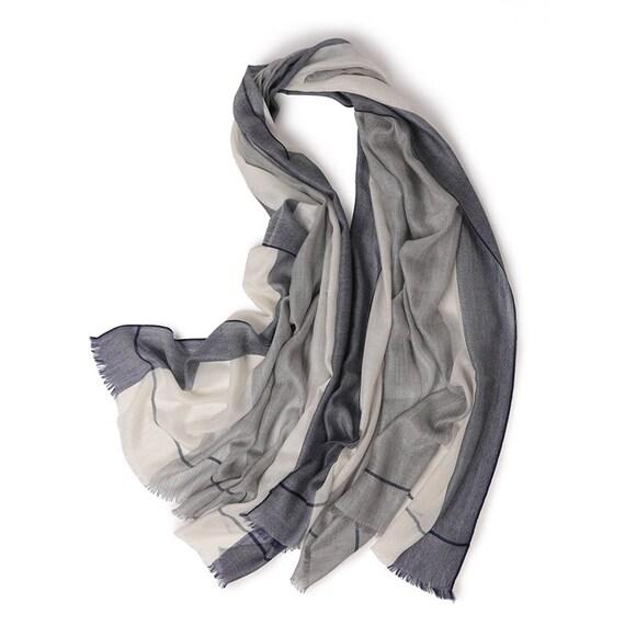 Cashmere scarf man scarf woman scarf stripe scarf luxury  abebf5a38