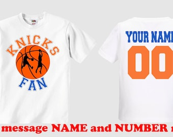 new product 043b3 78678 Personalized knicks   Etsy