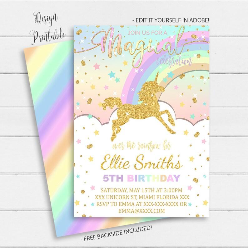 picture relating to Unicorn Invitations Printable titled Rainbow Unicorn Invitation, Unicorn Birthday Invitation Fast Obtain, Magical Unicorn Invite Printable, Glitter Unicorn,Instantaneous Down load