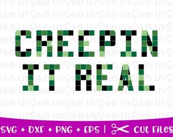 Creeper Svg Etsy