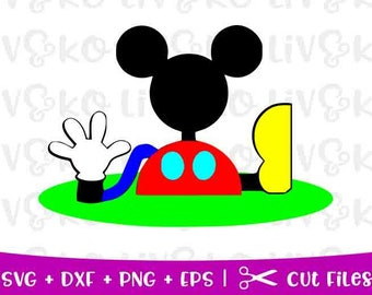 mickey mouse clubhouse svg etsy