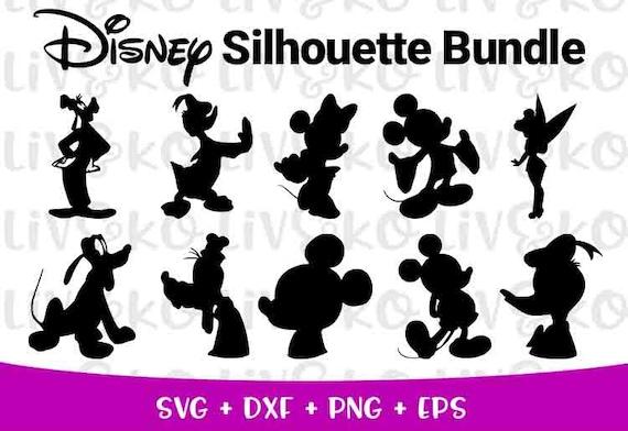 Disney Character Svg Bundle Disney Svg T Shirt Svg Files Etsy