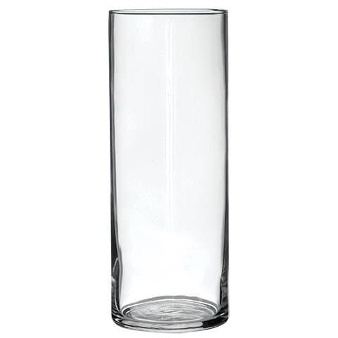Custom Or Plain Glass Cylinder Vase Personalize Vinyl Etch