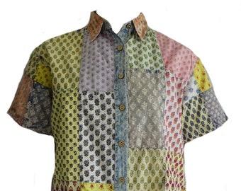 f0f4f2c50972e EAMZ 317 SACRED THREADS Vintage Cotton Patch Acid Wash Camp   Etsy