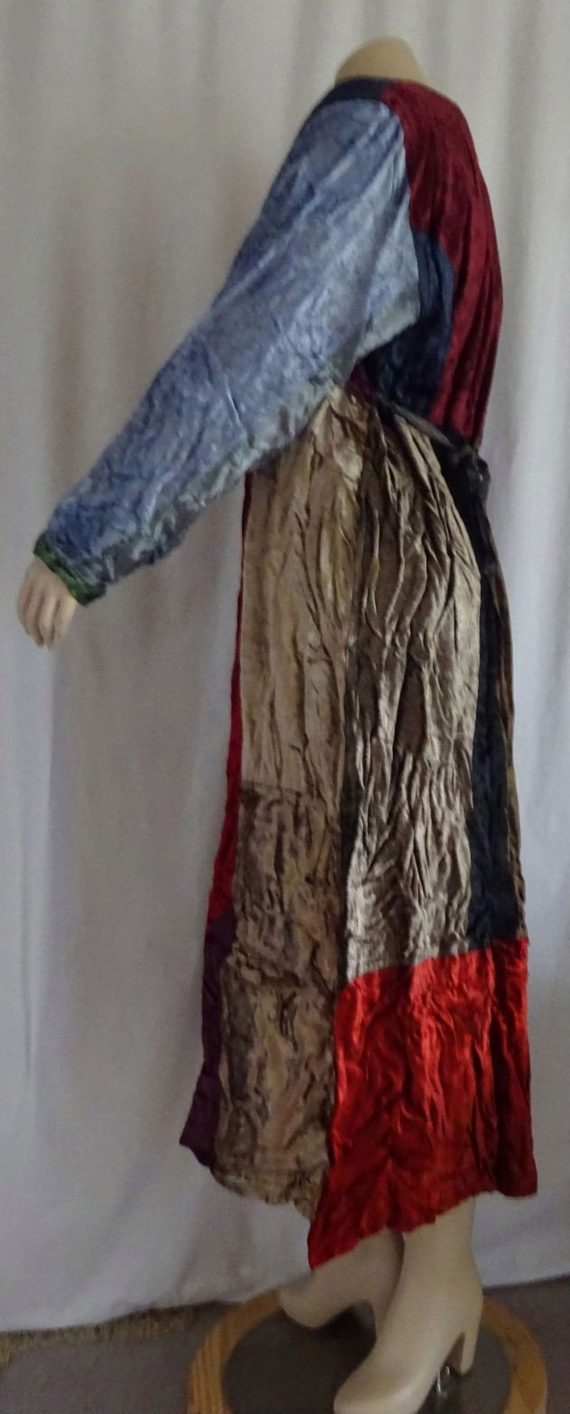 AMZ 103 Sacred Threads Rayon Velvet Patched Artsy Princess