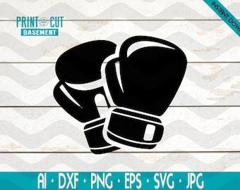 Boxing Gloves Svg Etsy