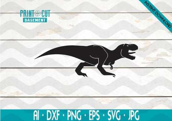 Dinosaur Svg Dinosaurs Clipart Svg Files Cricut Silhouette Etsy