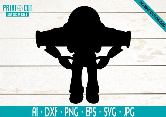 Toy Story Buzz Lightyear Svg Buzz Light Year Svg Toy Story Etsy