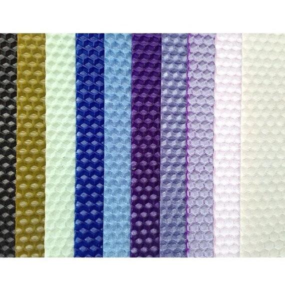 cera de color Mecha Vela de Cera de Abejas hojas laminado Kit de fabricación de 10 hojas de instrucción