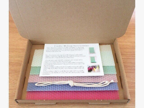 Pastel Candle Making Kit