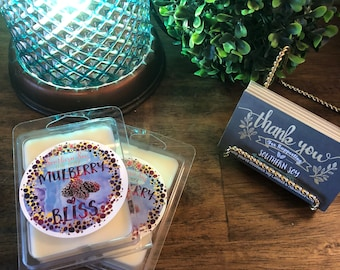 Mulberry Bliss Soy Candle or Soy Melt