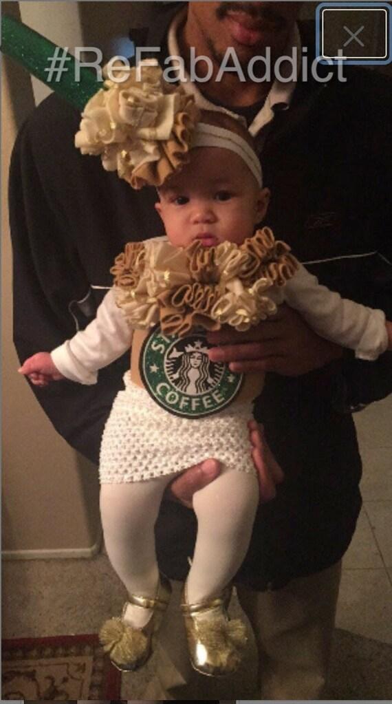 Starbucks Caramel Frappuccino Baby Toddler Halloween Costume