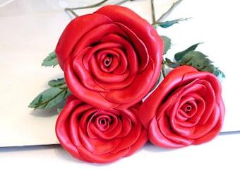 Unusual Flower,Keepsake Flower,Anniversary Gift, Flower Gift Partner,Leather Floral Decor,Goth Flowers,Handmade Flowers,Biker Lady Gift
