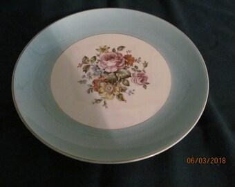 Cunningham u0026 Pickett Inc. Hand Decorated Danube Dinner Plate Alliance Ohio Used & Hand decorated plate   Etsy