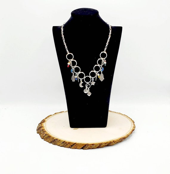 Lucky Charm Statement Necklace