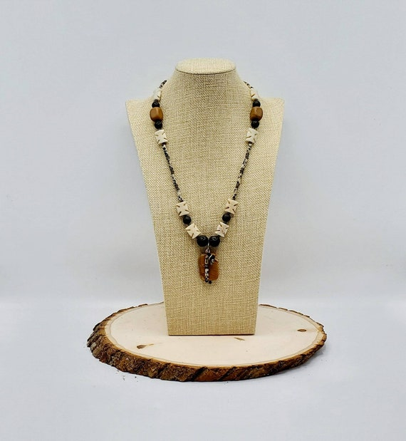 Shark's Tooth Statement Necklace