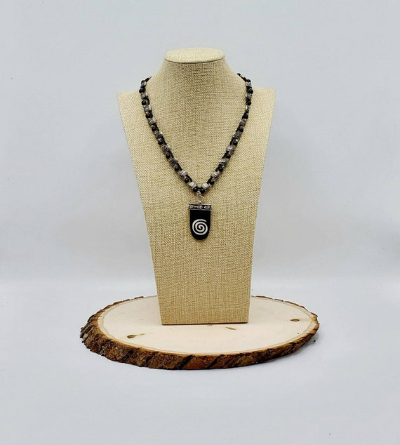 Celtic Spiral Pendant Necklace