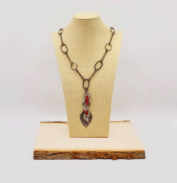 Fall Leaves Statement Necklace
