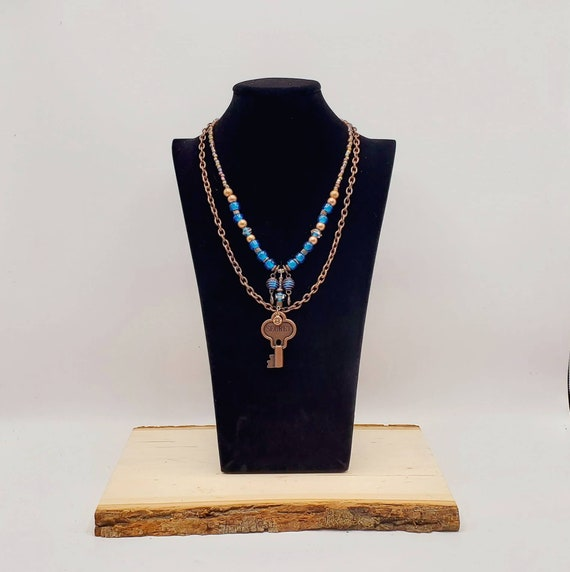 Steampunk Secret Key Necklace
