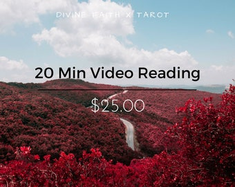 20 Min Pre-Recorded Video Reading