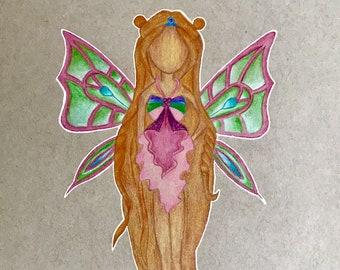 Flora Enchantix Reproduction Print