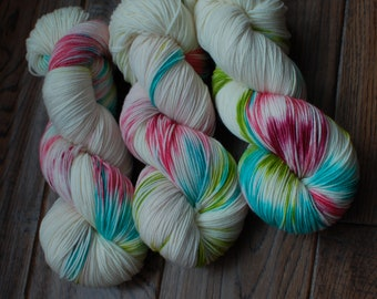 WILDLY SPRING | Hand Dyed Yarn | Indie Dyed