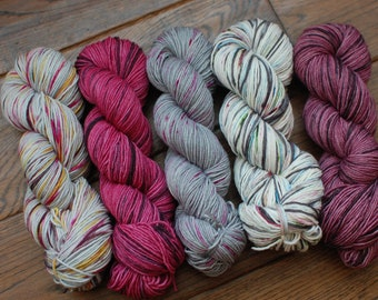 SUPERNATURAL Collection | Colourway Set | Hand Dyed Yarn | Indie Dyed Yarn
