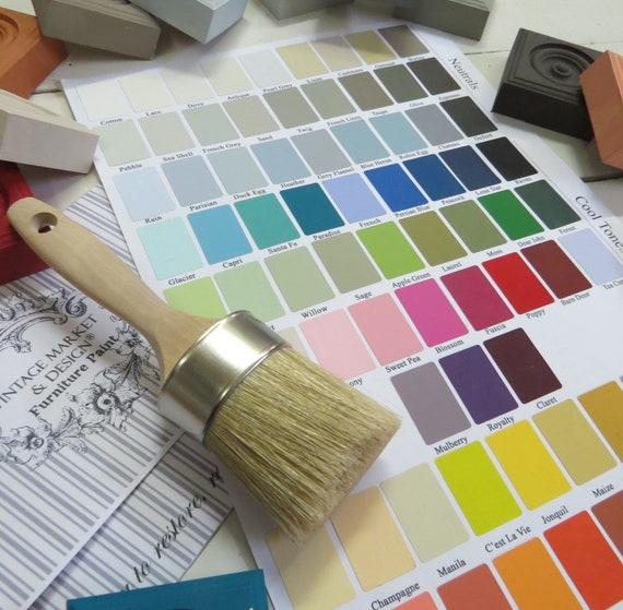 Vintage Market Design Furniture Paint Color Chart