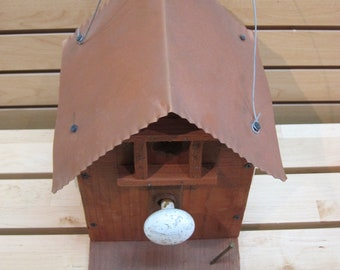 Knob Bird House