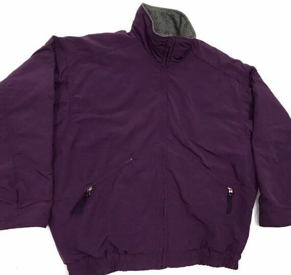 Patagonia Lined Fleece Bomber Jacket