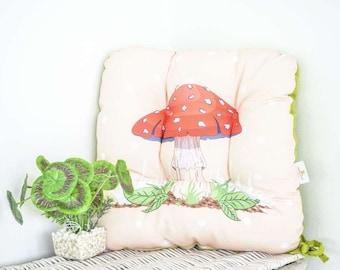 Chair Cushions Mushroom Kitchen Chair Pads Chair Cushion Dining Chair  Cushions Ties Linen Chair Pads Kitchen