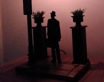The Exorcist Original Poster Based Lamp