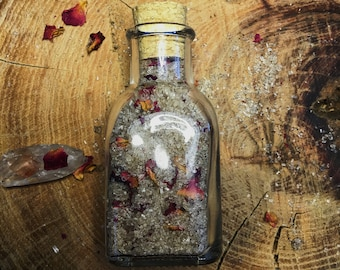 Vanilla Rose Bath Salts