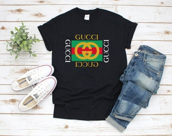 a3501e5ae Gucci Shirt, Gucci tshirt, Gucci Inspired, gucci men women, gucci replica, Gucci  Vintage shirt, Gucci T shirt For Women men