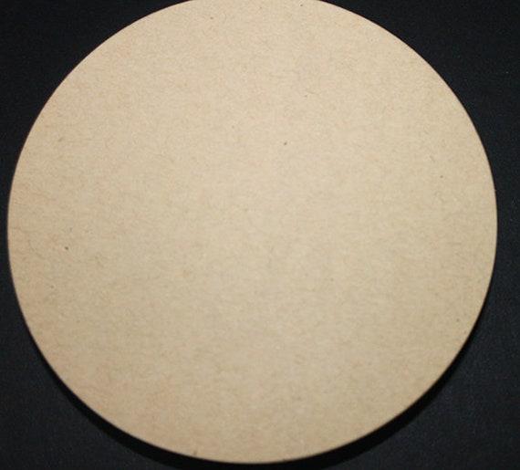 25pcs Mandala 4 round circle small tags ready to ship brown kraft card stock