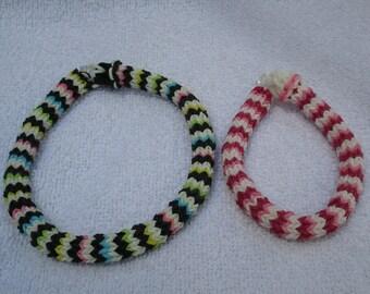 Hexafish Bracelet/Anklet (Rainbow Loom)