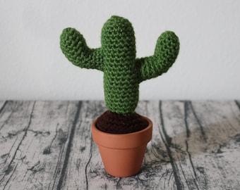 Stuffed Saguaro Cactus – Crochet Succulent – Amigurumi