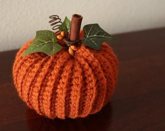 Crochet Pumpkin - Fall Decor - Autumn Home Decor