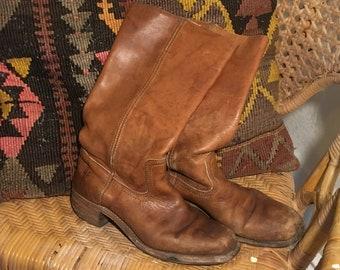 Cognac frye boots | Etsy