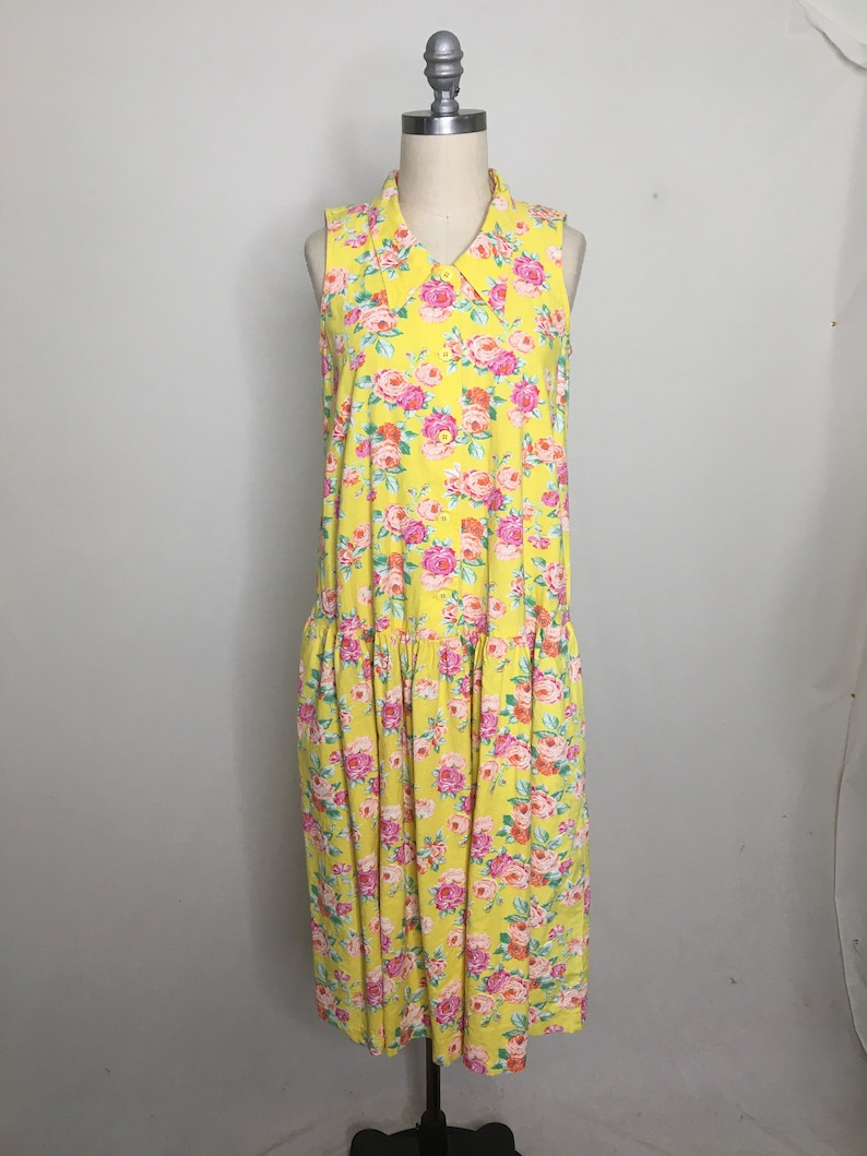 Vintage 80s Ma Mere Albert Nipon Sundress Medium
