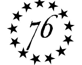 1776 Decal, 1776 Sticker, Laptop Decal, Laptop Sticker, Macbook Decal