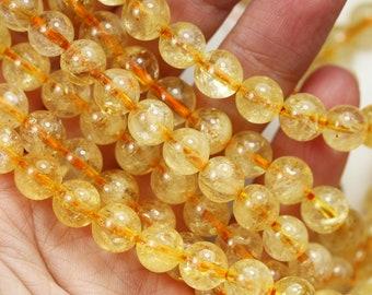 Gemstone Beads For Jewelry Making Gemstone Beads Wholesale Natural Gemstone Citrine Semi Precious Rectangle Shape Beads Strand Citrine