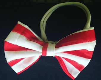 Patriotic Red & White Striped