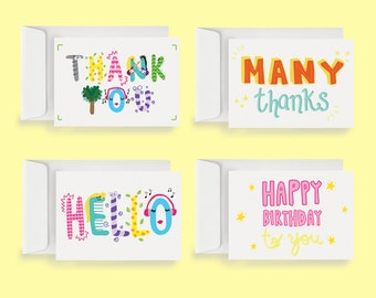 Note Card Assortment (20 Cards + Envelopes)
