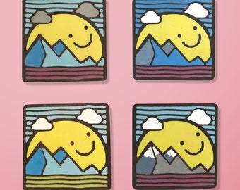 Smile handmade Enamel Pin
