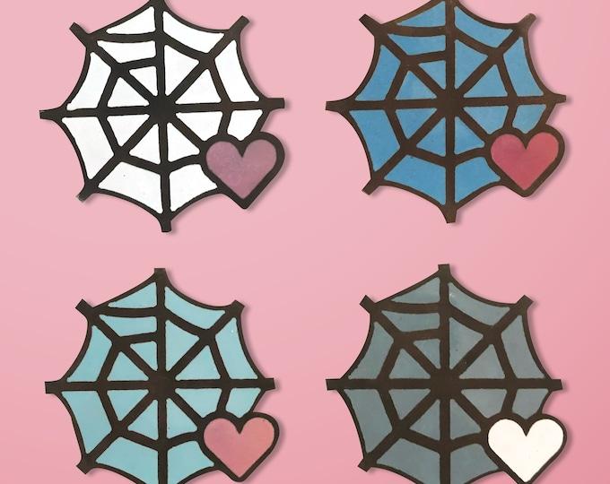 Web Handmade Enamel Pin