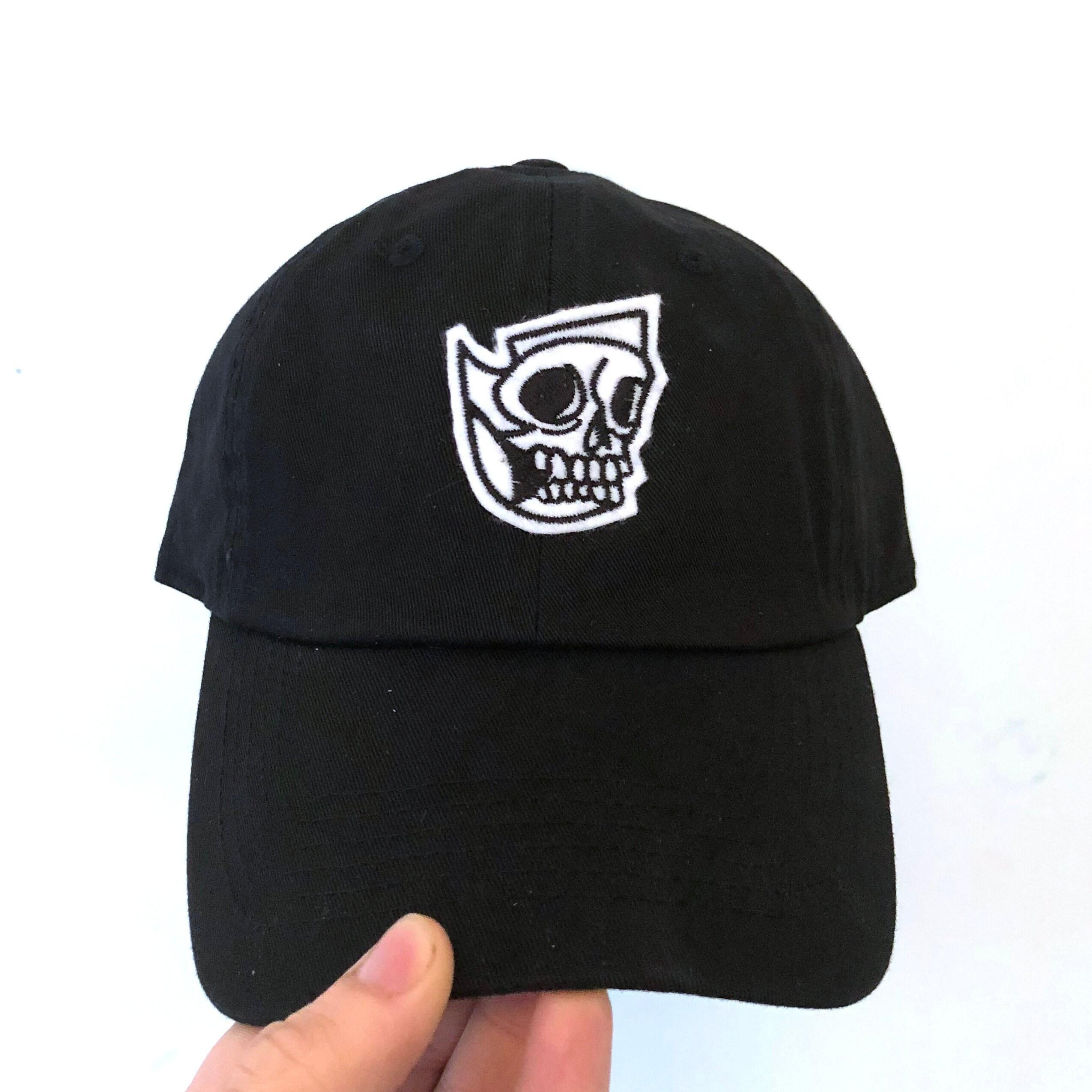 Skull dad hat strap back  93ea9c16dcc
