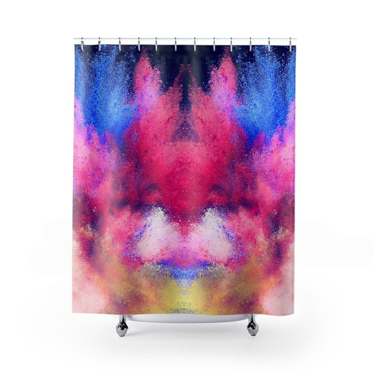 Colorful Shower Curtain Artistic Creative